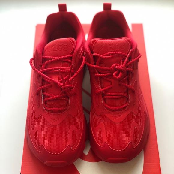 NIKE Air Max 200 Men Shoes CU4878600 Triple Red